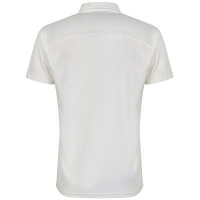Club Shirt Short Sleeves - Golden Yellow Piping