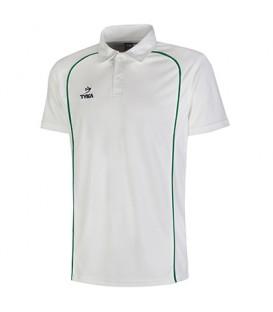 Club Shirt Short Sleeves - Green Piping