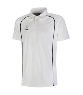 Club Shirt Short Sleeves - Navy Piping