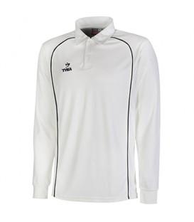 Club Shirt Long Sleeves - Black Pipings